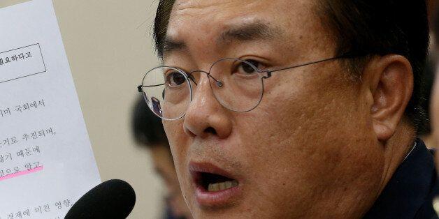 정진석 자유한국당 의원이 노무현 전 대통령의 유언을