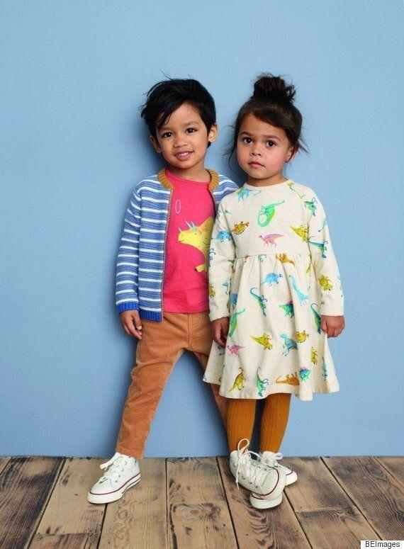 이 백화점이 더 이상 아동복에 성별을 표기하지 않는