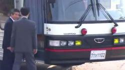 대통령 버스가 중고차 시장에 나온