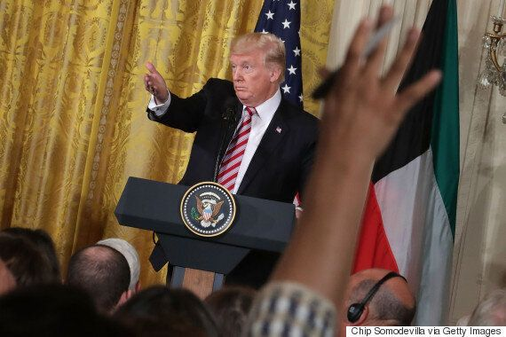도널드 트럼프가 북한 상대 '군사옵션'에 대해 밝힌 생각들