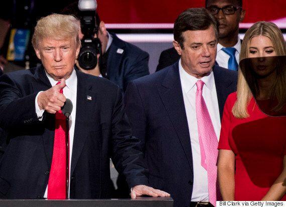 매너포트 전 트럼프 선거대책본부장은 러시아 측에 '브리핑'을