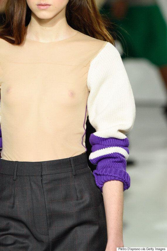 캘빈 클라인의 '네이키드 스웨터'는 당신의 상상을