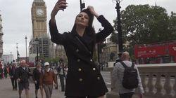 '세상에서 가장 다리가 긴 여성' 기록을 갈아치운