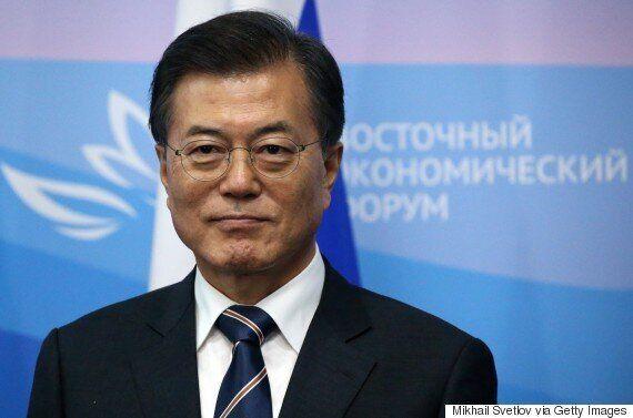 문재인-아베가 '북한 원유공급 중단'에 중국과 러시아의 동참을 설득하기로