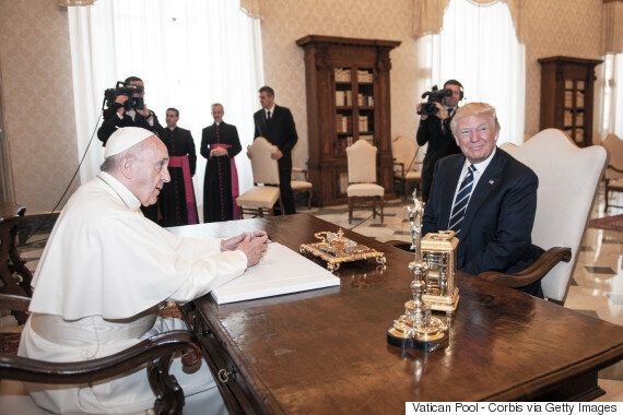 프란치스코 교황이 기후변화 부정론자들에게 :