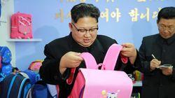 분홍색 가방 든 김정은 사진이 공개되자 벌어진