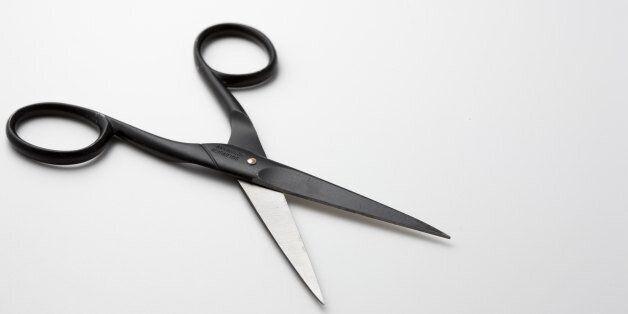 UNITED KINGDOM - JANUARY 25: Pair of scissors (Photo by Tim Graham/Getty