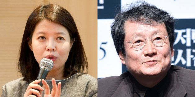 MB의 국정원이 배우 김여진과 문성근의 나체 합성사진을 만들어