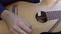 줄이 18개나 되는 기타는 어떤 소리를