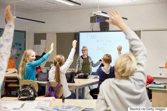 이 선생님이 준비한 수업 방식을 듣고 학생들은 환호성을