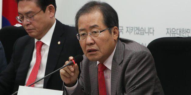 홍준표가 '문재인 대통령이 미국에서 푸대접을 받았다'는 허위주장을