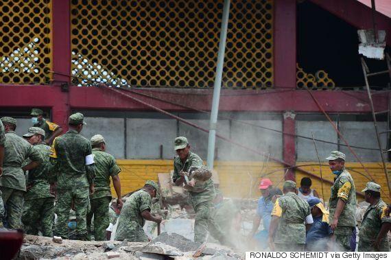 멕시코 8.2 강진으로 최소 60여명 사망(사진,