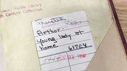 78년 전 대출된 책이 도서관으로