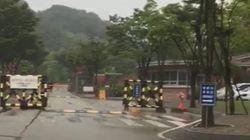 '삼청교육대'로 출근하는 이명박근혜 국정원