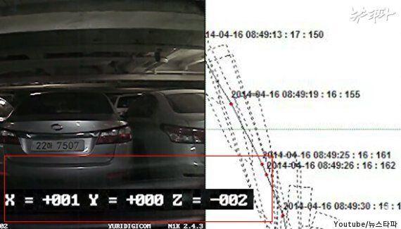 세월호 차량 블랙박스 영상에서 나온 중요한