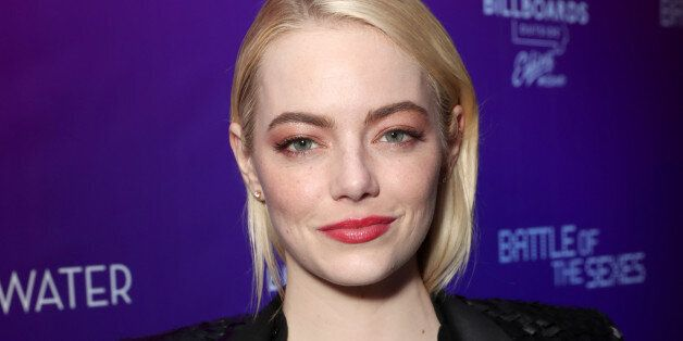 TORONTO, ON - SEPTEMBER 10: Emma Stone attends Fox Searchlight's Toronto Film Festival Party on September...