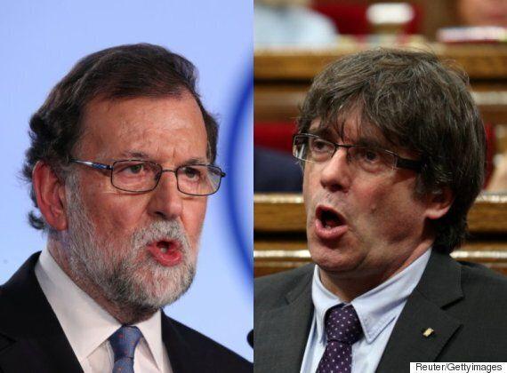 스페인 정부와 카탈루냐가 분리독립을 두고 심각하게 싸우고