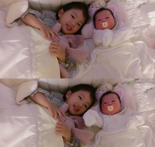 장범준♥송지수, 두 아이 부모 됐다...둘째 사진