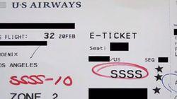 탑승권에 'SSSS' 코드가 찍히면 무슨 일이