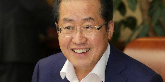 홍준표가 '한국당 지지율 상승'을 언급하며 포부를