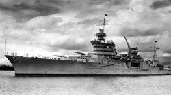2차 세계대전 때 침몰한 미국 군함이