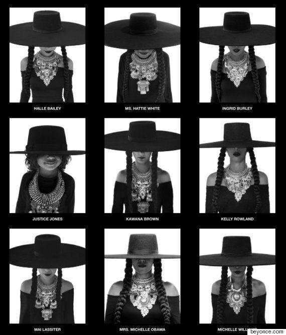 미셸 오바마가 비욘세의 생일을 맞아 비욘세로