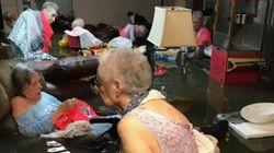 트위터에 올라온 사진 덕에 침수된 양로원에서 18명의 노인이