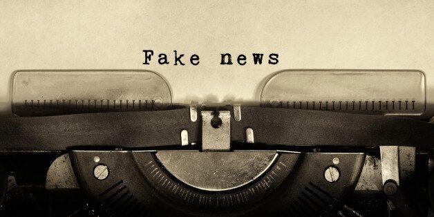 '가짜 뉴스'를 공격하면