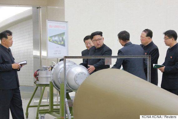 북한이 ICBM에 장착할 수소탄을 개발했다고