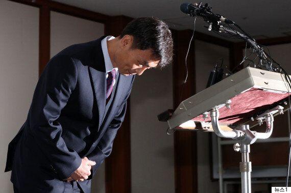 박성진 후보자가 '뉴라이트 역사관' 논란을 해명했다. '사퇴'는 말하지
