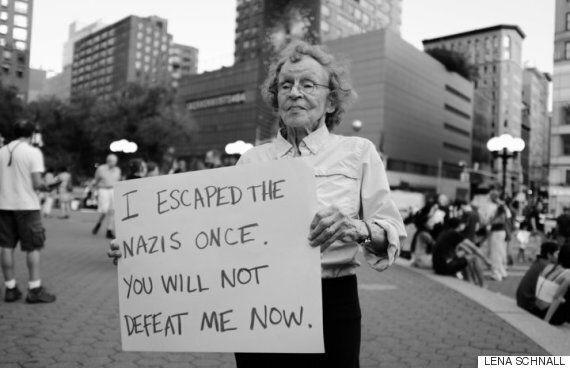 나치로부터 탈출한 여성은 지금 다시 나치즘과 싸우고