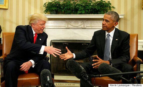 오바마가 트럼프에게 남긴 편지의 전문이