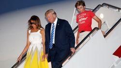미국 영부인이 트럼프의 라이벌인 힐러리의 딸 첼시에게 감사를 표한