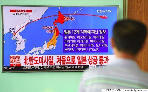 북한이 미사일을 발사한 것은 '을지프리덤가디언'(UFG) 연습 때문이라고