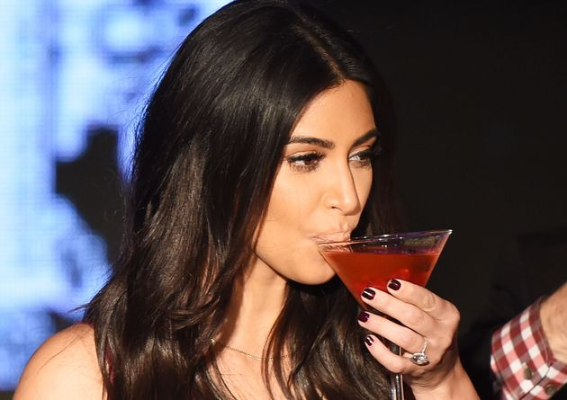 Kim Kardashian spills secrets when she's had a few too
