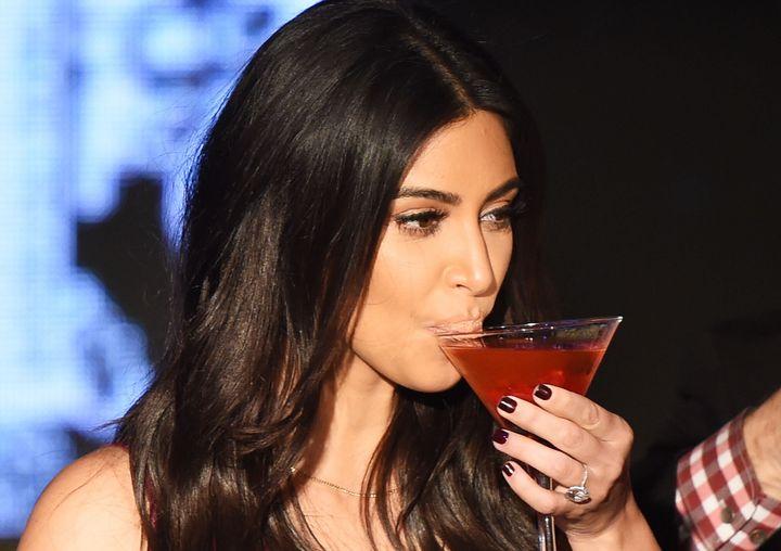 Kim Kardashian spills secrets when she's had a few too many.