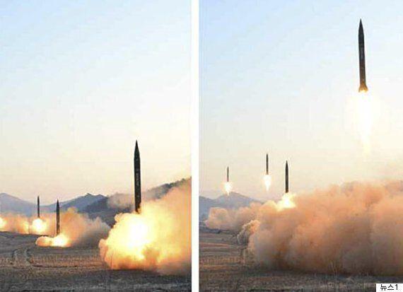 북, 단거리미사일 수발 발사...을지연습