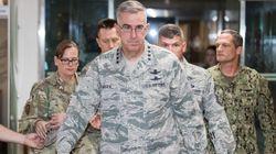 미군 지휘부가 '이례적 기자회견'에서 강조한