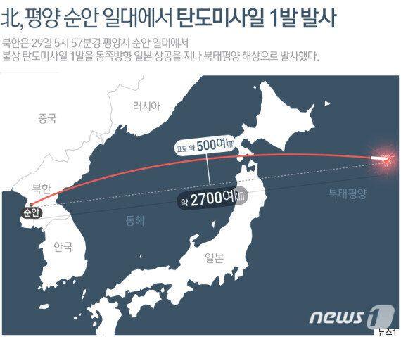 '19년 만에 2번째, 총 5번째 그리고 어쩌면 처음' 북한 미사일 발사의