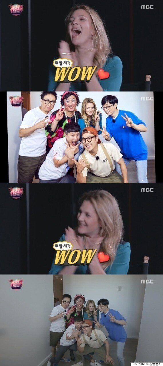 '무한도전' 드류 베리모어 깜짝출연, 5人