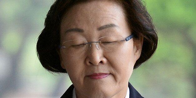 신연희 강남구청장, 증거 인멸 장면 CCTV에