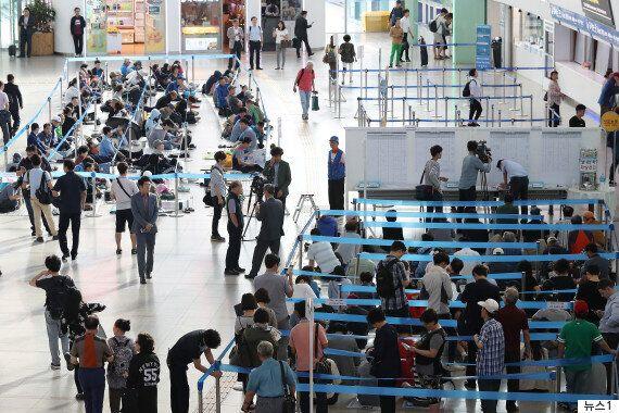 추석 기차표 판매 첫날 아침 서울역