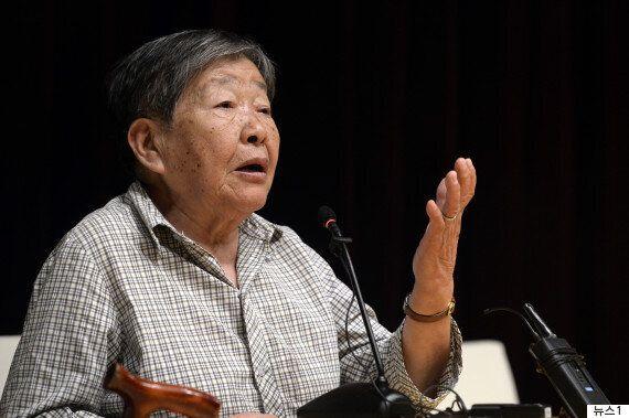 중국 내 유일한 '한국 국적'이었던 위안부 피해자 하상숙 씨가