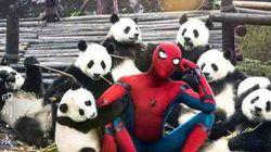'스파이더맨: 홈커밍'의 중국판 포스터는