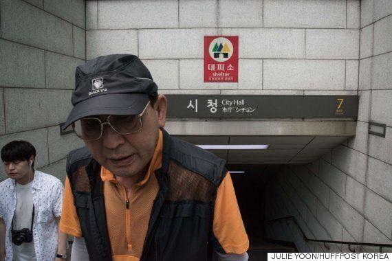 남한 사람들은 고조되는 핵위기에도 놀랄 만큼