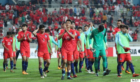 한국이 본선 진출을 확정할 기회를