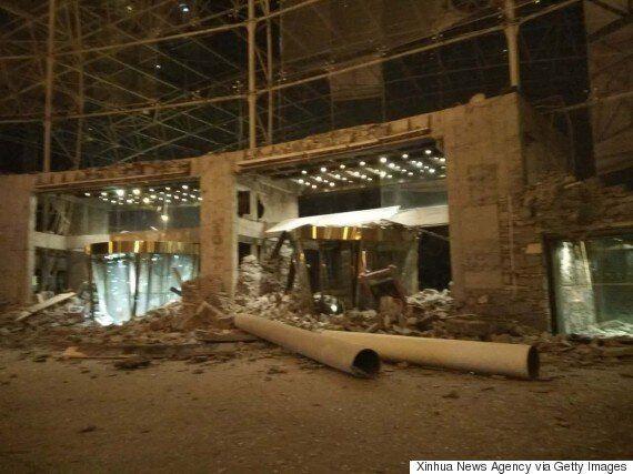 중국 쓰촨성에서 규모 7.0의 강진이