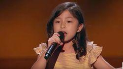 이 소녀가 부르는 마이클 볼튼의 노래를
