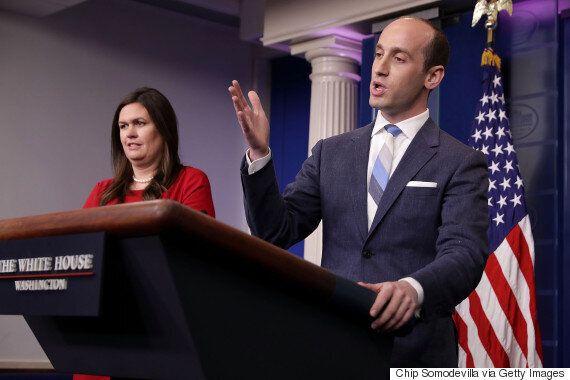 미국 '합법이민 축소' 법안을 놓고 백악관 관계자와 기자들이 엄청난 설전을