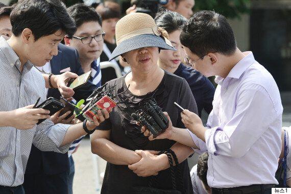 박찬주 육군 대장의 부인이 군 검찰 소환 조사 앞두고 밝힌